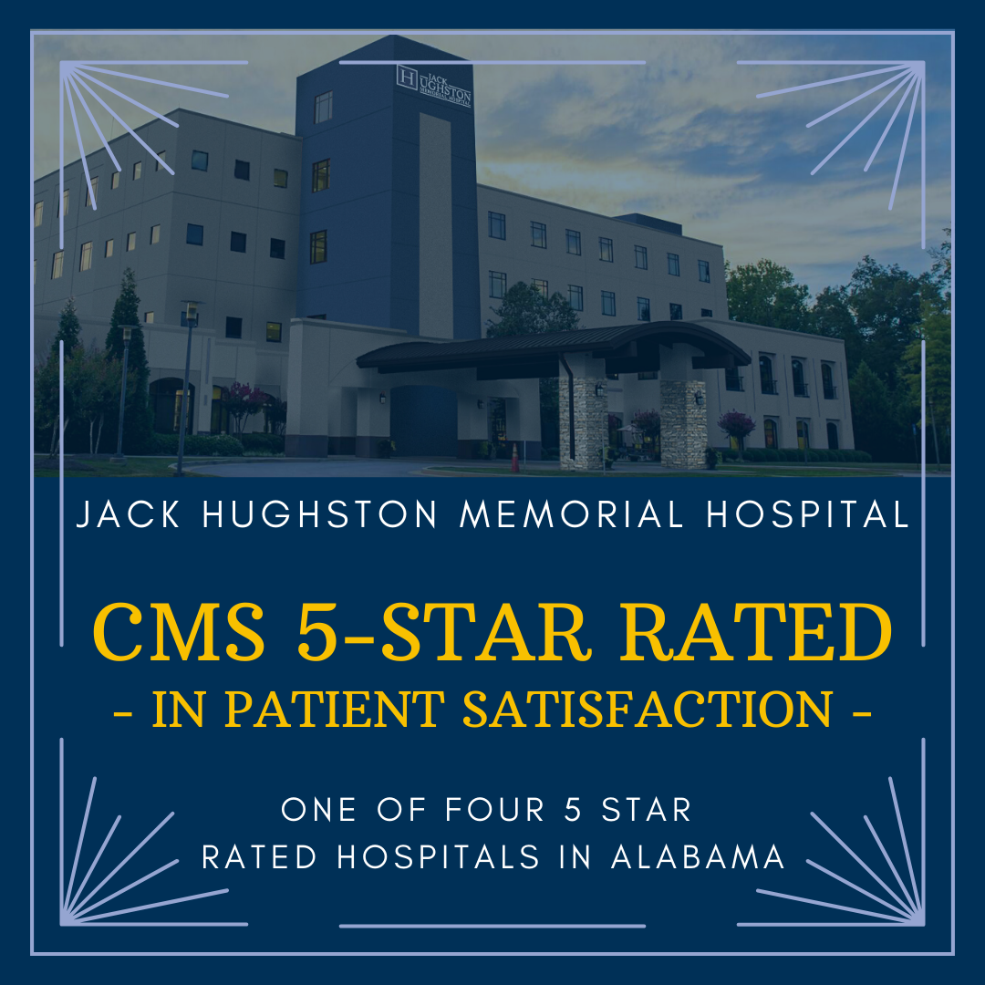 Jack Hughston Memorial Hospital recognized as CMS 5-star rated